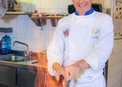 Jens Huthmann gibt Feuer