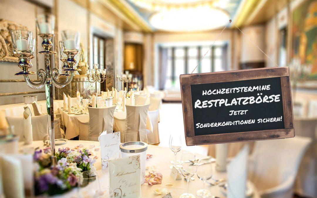 Hochzeitstermine-Restplatzboerse