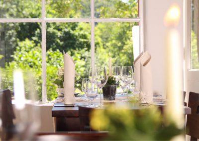 Fensterblick Gartenhaus