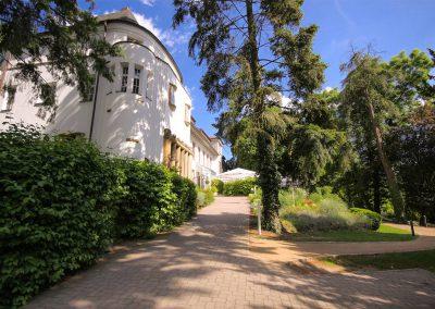 Zugang zum Hofgut Dippelshof