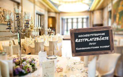 Hochzeitstermine-Restplatzbörse