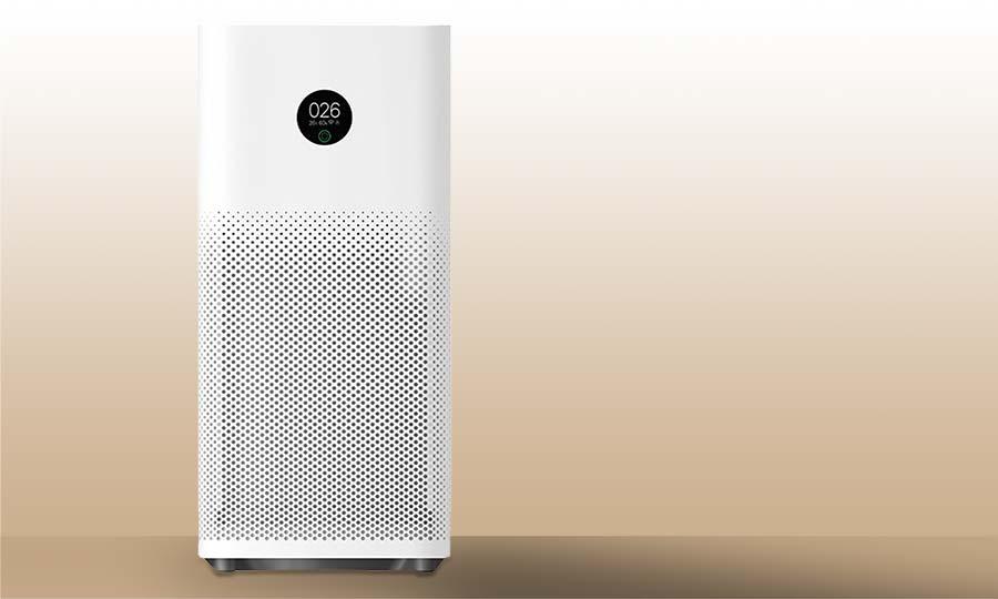 Effektive Luftreinigung mit Luftreiniger Xiaomi-3H